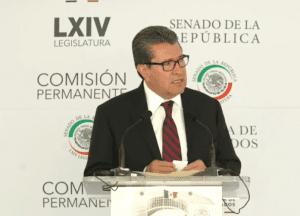 RICARDO MONREAL LEVANTA LA MANO… PERO PREFIERE NO CORRER