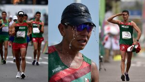 Mexicanos quedan lejos de la lucha por las medallas en la marcha de los 50 km