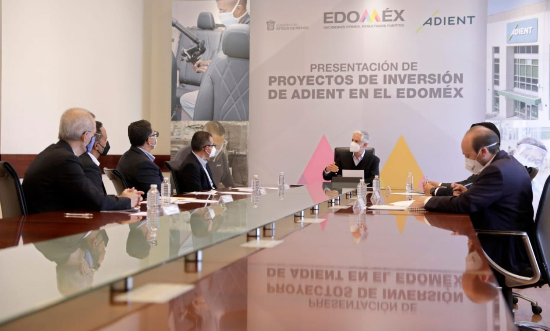 ANUNCIA ALFREDO DEL MAZO INVERSIÓN DE ADIENT POR 24 MDP