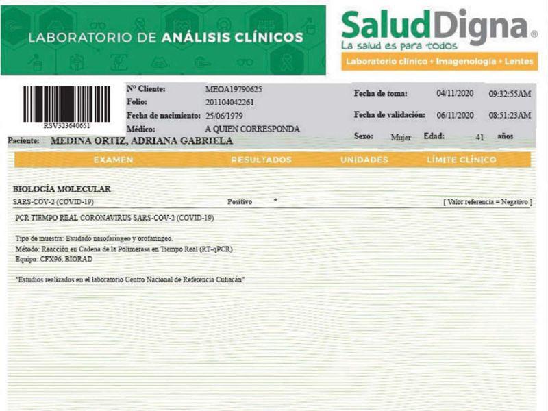BALCONEAN' PRUEBA FALSA ANTICOVID DE DIPUTADA DE MOVIMIENTO CIUDADANO