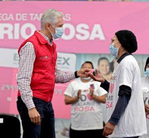 """""""EL 'SALARIO ROSA' LLEGA A LAS AMAS DE CASA QUE MÁS LO NECESITAN"""": ALREDO DEL MAZO"""