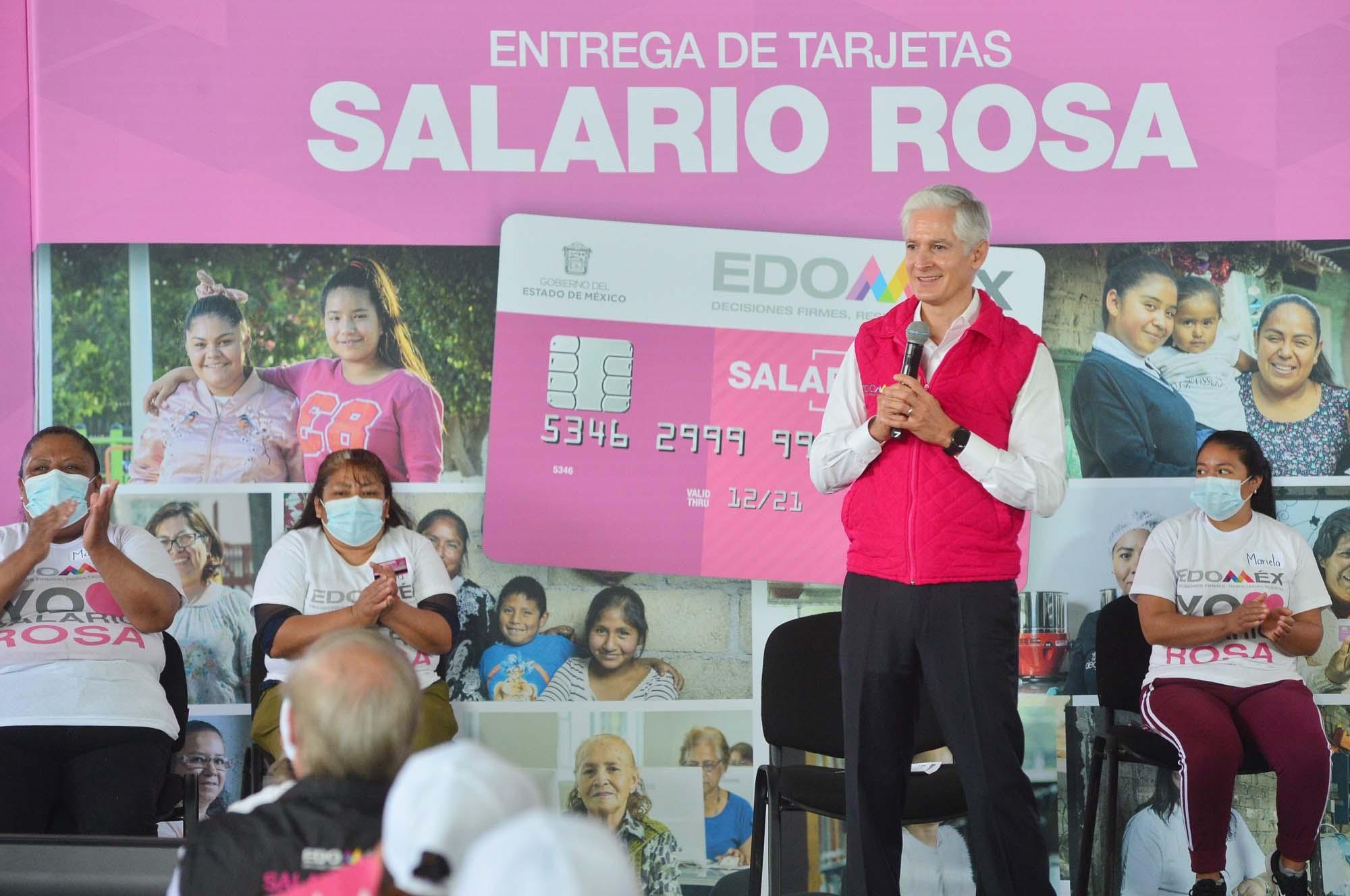 """""""MUJERES INVIERTEN 'SALARIO ROSA' EN BIENESTAR"""": DEL MAZO MAZA"""