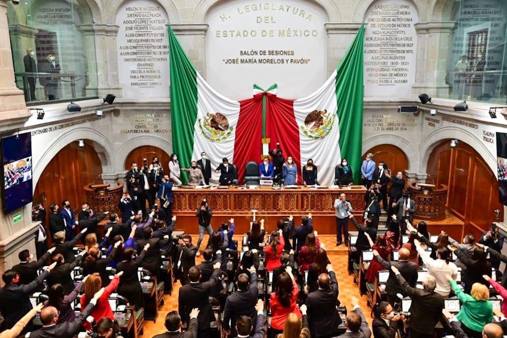 DEFINE CONGRESO MEXIQUENSE REPARTO DE COMISIONES