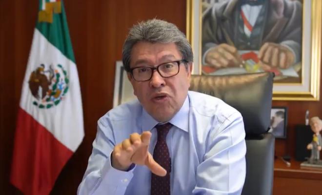 """""""FALTA UNA LEY REGLAMENTARIA"""": RICARDO MONREAL"""